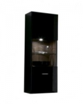 Гостиная Янг черный SFW1W 124 шкаф настенный 400х320х1200