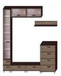 Некст-2 Гостиная Некст Дополнительная комплектация 2 (2800х541х2140)
