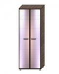 Некст-2 Шкаф с распашными зеркальными дверями НШР-3-2-5 (800х536х2140)