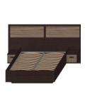 Некст-1 Кровать с ящиками и подъемным механизмом НКР-3-16 (2500х2052х850) Спальное место - 1600х2000