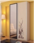 Шкаф-купе для одежды с зеркалом двухдверный 1187х588х2290