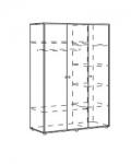 Браво Синий Модуль 1 Шкаф для одежды трехдверный 1370х545х1934