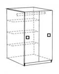 Акварель Модуль 10 Шкаф для одежды 750х670х1328