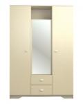 Детская Алисия СТЛ.050.06 Шкаф 3-х дверный с зеркалом 1502х599х2200