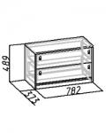 Комфорт 2 Тумба 17 (782х887х373)