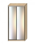 Шкаф-купе Оптима-16 Дверь зеркало-зеркало ОШ-4-8-55 1626х480х2290