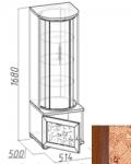 Марракеш Шкаф для посуды (514х1671х500)