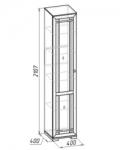 Шерлок 13 Шкаф для посуды (400х2107х400)