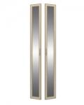 София 3 СТЛ.098.24 Двери с зеркалом 2 шт для СТЛ.098.01-03-06-07 295х21х2284