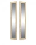 София 2 СТЛ.098.28 Двери с зеркалом 2 шт для СТЛ.098.02-04 295х21х1580