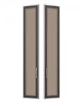София 1 СТЛ.098.27 Двери со стеклом 2 шт для СТЛ.098.02-04 295х21х1580