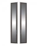 София 1 СТЛ.098.28 Двери с зеркалом 2 шт для СТЛ.098.02-04 295х21х1580