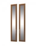 София 4 СТЛ.098.28 Двери с зеркалом 2 шт для СТЛ.098.02-04 295х21х1580