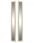 София 2 СТЛ.098.24 Двери с зеркалом 2 шт для СТЛ.098.01-03-06-07 295х21х2284