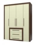Валенти СТЛ 046.09 Шкаф 4-х дверный с ящиками 1700х601-636х2215