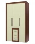 Валенти СТЛ 046.10 Шкаф 3-х дверный с ящиками 1250х601-636х2215