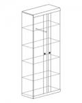 Прихожая Камелия Шкаф для одежды 2 882х425х2100