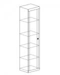 Прихожая Камелия Шкаф 6 (482х425х2100)