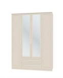 Юлианна Шкаф 4-х дверный с зеркалами СБ-074-01 (1600х2236х590)