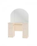 Юлианна Стол туалетный с зеркалом СТЛ.004.03-01 (1000х1502х476)