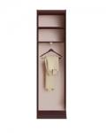 Прихожая Шейла шкаф для одежды Венге СТЛ.500 600х350х2220