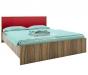 Кровать без основания Марсель ночь марино (бордо) СБ-1077 (1688х860х2088) спальное место 1600х2000