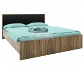 Кровать без основания Марсель ночь марино (черный) СБ-1077 (1688х860х2088) спальное место 1600х2000