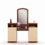 Гретта вишня барселона СБ-1143 Стол туалетный (1333х1586х370)