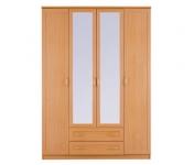 Симба СР-36 Шкаф 4-х дверный с 2-мя зеркалами (1600х2236х590)