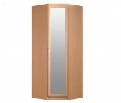Симба СР-40 Шкаф угловой с зеркалом (904х2236х904)