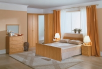 Модульная спальня Джорджия (ольха)