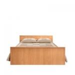 Кровать без основания Джорджия ольха СБ-1032 (2069х773х1348) спальное место 1200х2000
