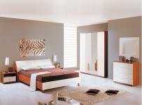 Модульная спальня Гретта (вишня барселона)