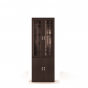 Вива венге СБ-640 Шкаф с витриной (800х2251х365)