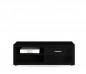 Марсель дуб феррара (черный) СБ-1071-1 Тумба под ТВ (1350х470х366)