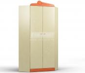 Денди оранжевый СБ-1424 Шкаф угловой (897х1988х897)