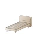 КР-108 Кровать 0.9х1.9 Размер 850х950х2174
