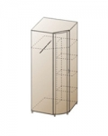 ШК-107 Шкаф для одежды и белья Размер 2172х891х891