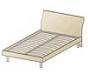 КР-112 Кровать без матраса 2200х840х1720. Спальное место 2000х1600