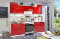 """Кухня """"Бланка"""" (Белый/Красный Глянец)"""