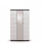 Гретта дуб феррара СБ-208 Шкаф 3-х дверный с зеркалом (1350х2241х580)