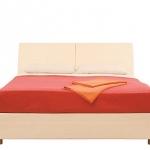 Кровать без основания Гретта вишня барселона СБ-221 (2390х849х1522) спальное место 1400х2000