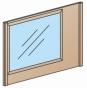 Спальня Киото Зеркало навесное 435 900х560