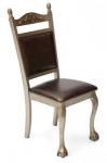 Стул с мягким сиденьем и спинкой 467APU-E (SILVER GOLD)