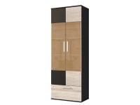 Мэдиссон шкаф 2-х дверный СТЛ.159.04 (690х1895х405) Дуб Феррара/Дуб Сонома