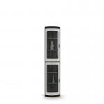 Сити онденс СБ-216 Шкаф с торцевой витриной(345х2218х345)