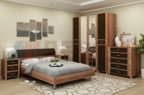 Спальня Камелия 5 (Слива Валлис-Комбинированный)