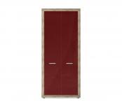 Марсель ночь марино (бордо) СБ-1067 Шкаф для одежды (900х2080х575)