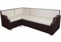 """Кухонный угловой диван """"Квадро 6 ДУ"""" со спальным местом"""