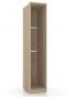 Бруна Корпус шкафа одностворчатого ЛД 631.130 (458х2179х590)